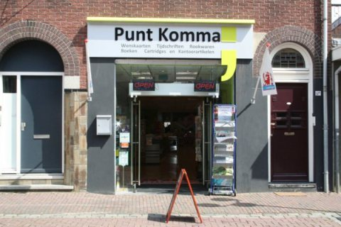 Puntkomma-Echt